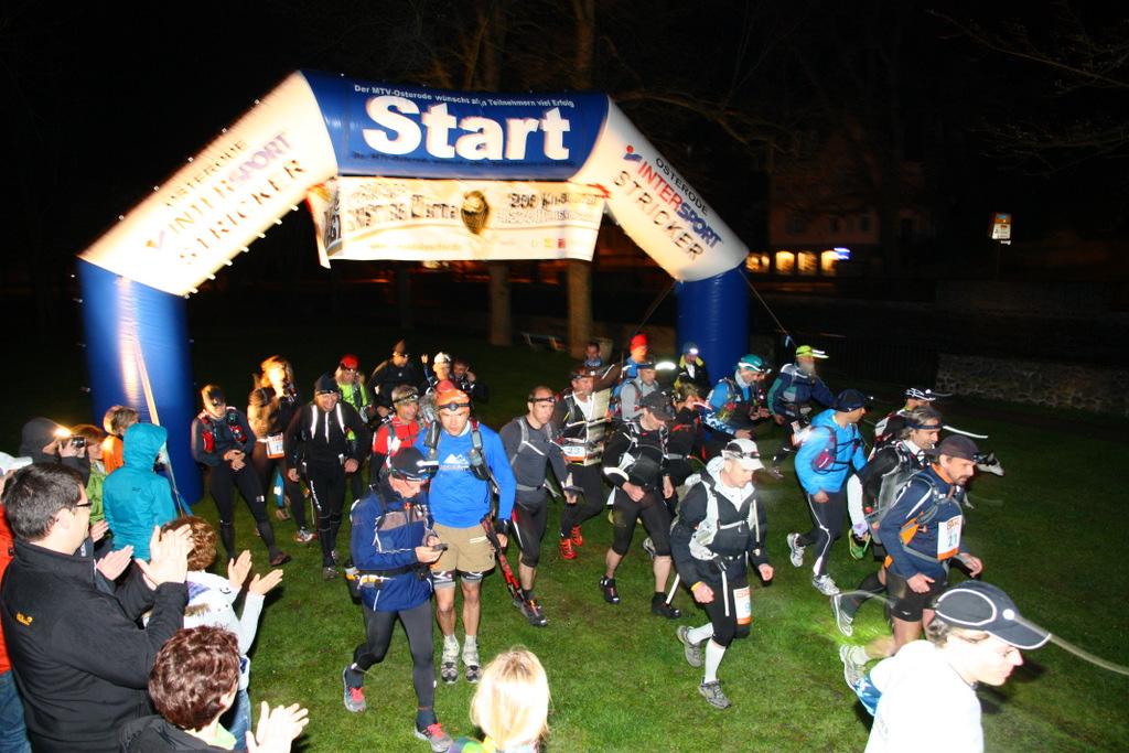 Start Hexenstieg Ultra 2012