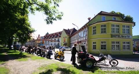 Motorradhotel mit Tiefgarage
