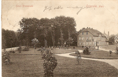 Hotel Osterode 1907