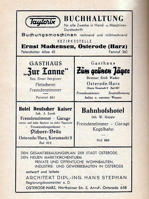 800 Jahre Osterode am Harz