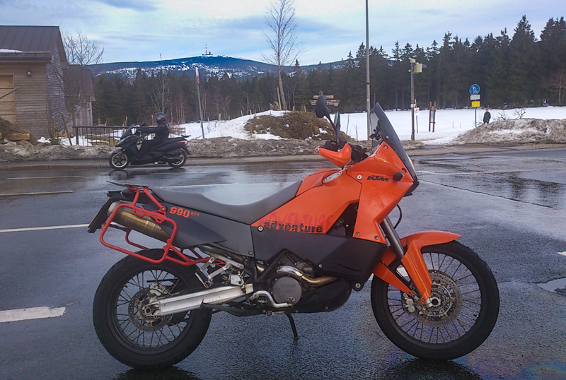 Motorradtour Harz 2015